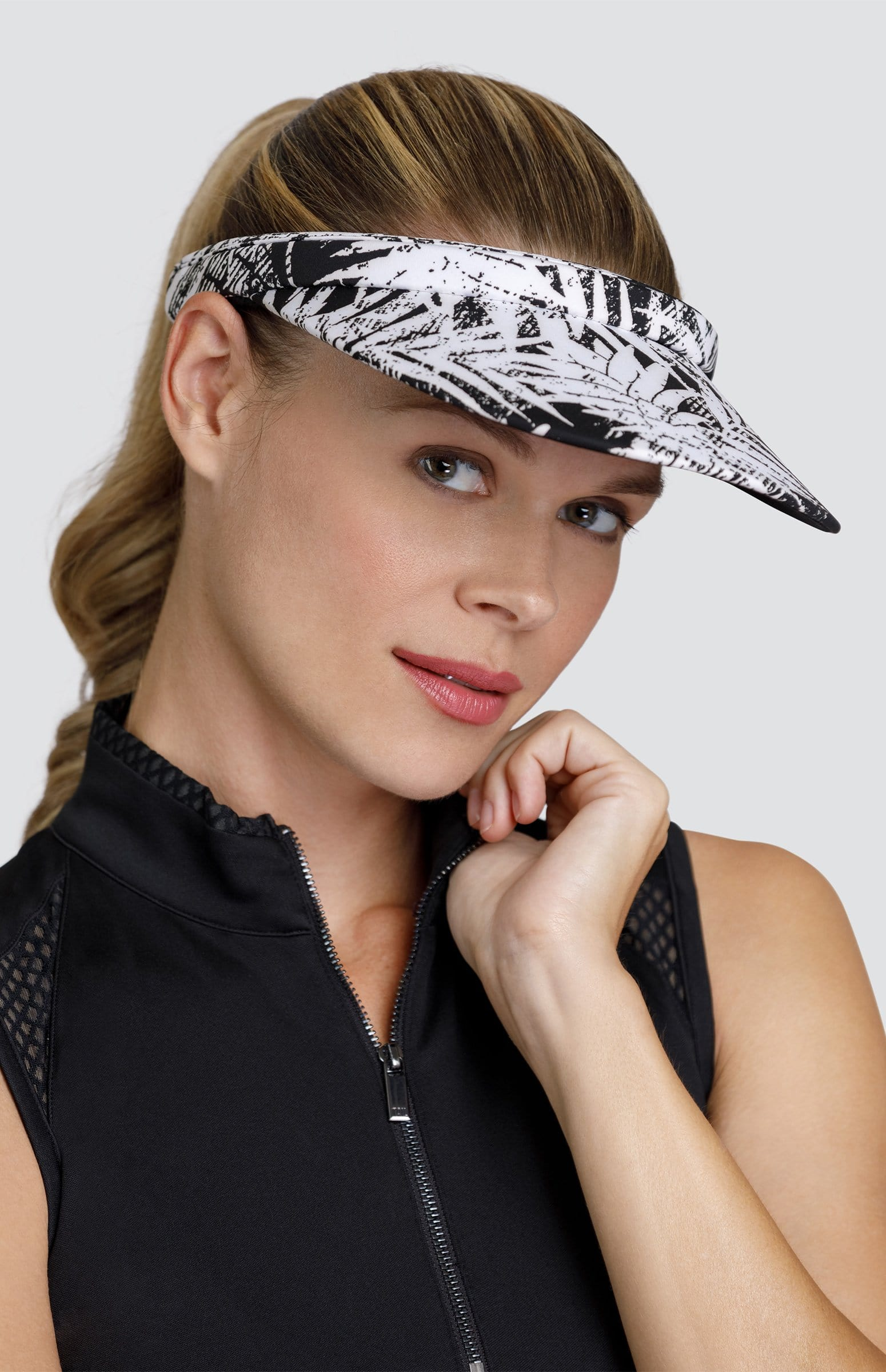 Samantha Visor - Tropical Print