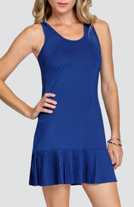 Pasha Dress - Blue Depths