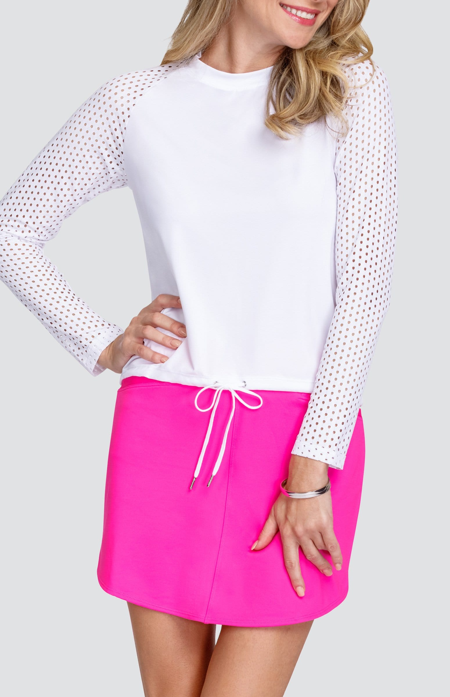 Svetlana Top - Chalk White