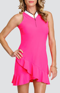 Mikayla Dress - Think Pink