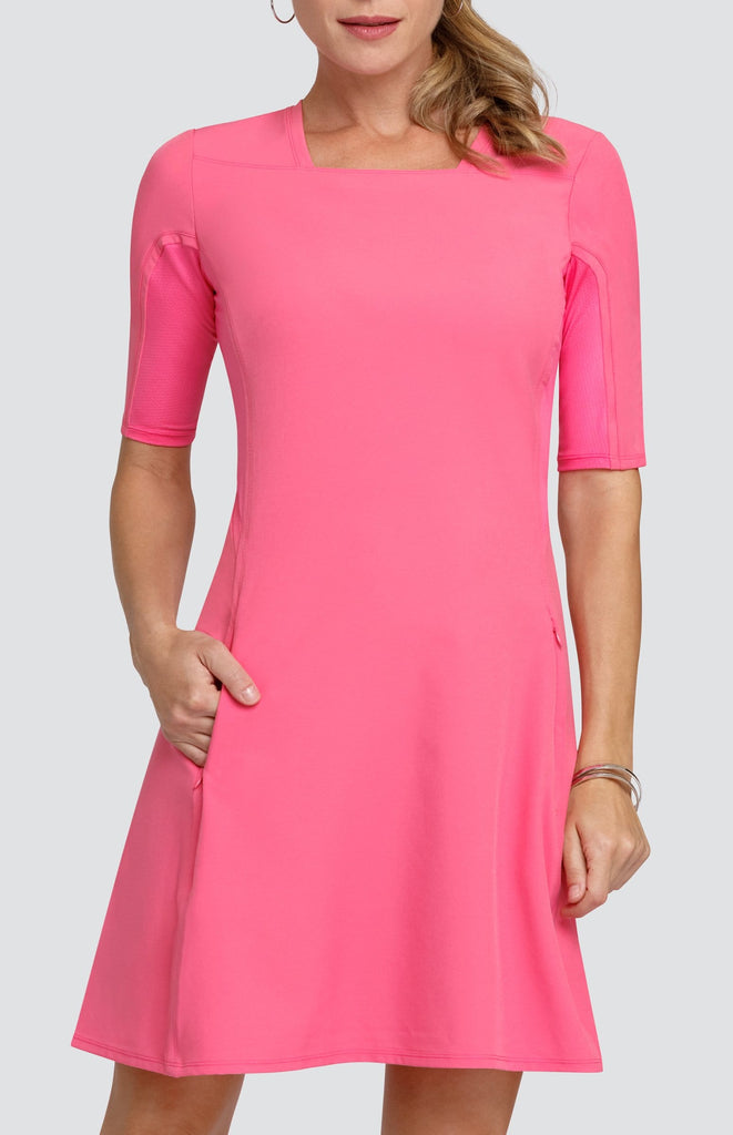 Dawn Dress - Power Pink