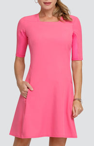 Dawn Dress - Power Pink - FINAL SALE