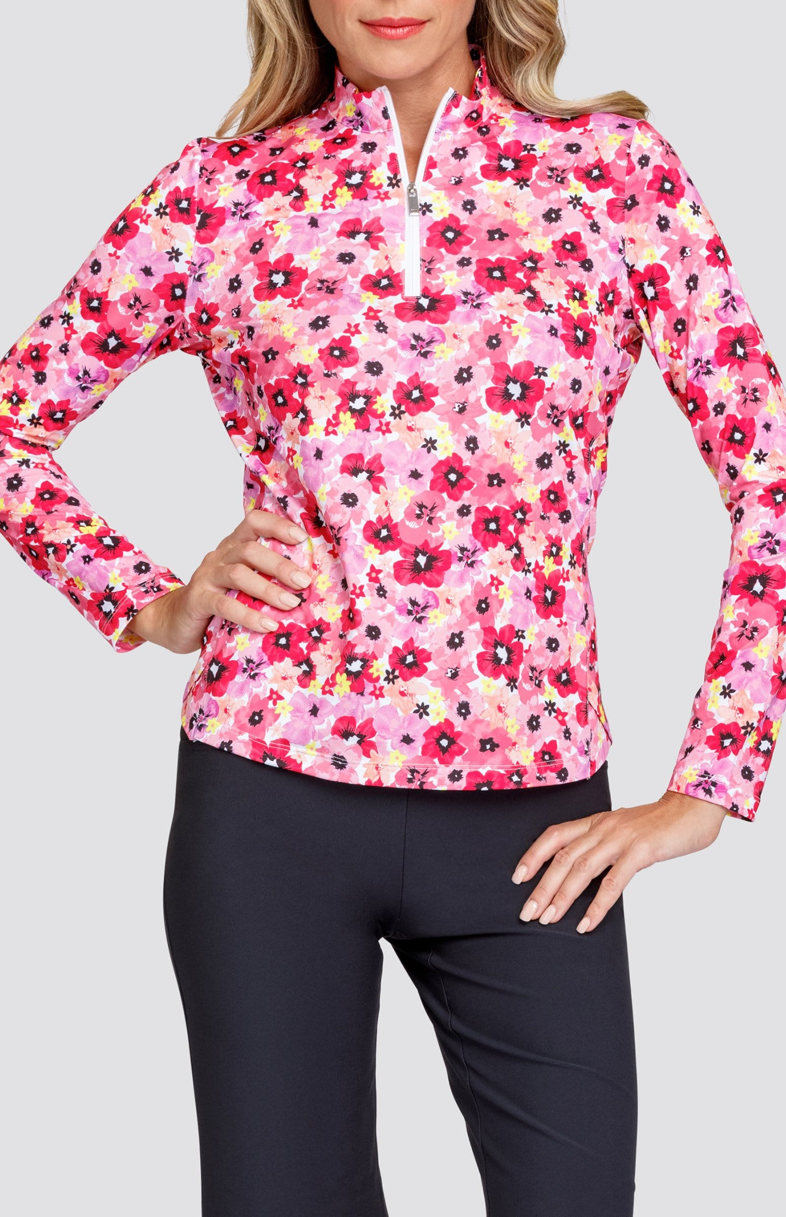 Cora Top - Playful Posy