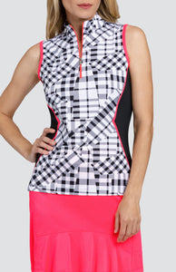 Marleigh Top - Pieced Gingham