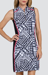 Lyla Dress - Pieced Gingham