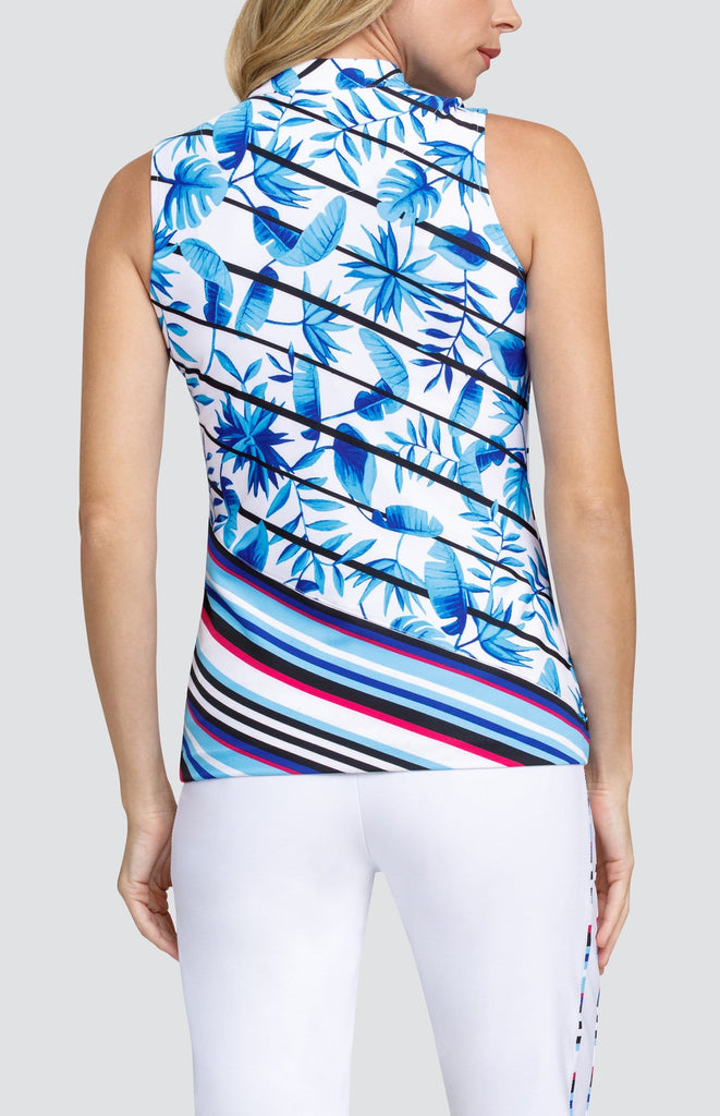 Milly Top - Striped Tropics