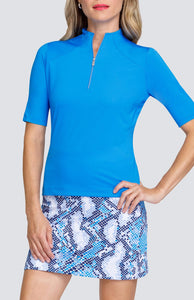 Meredith Top - Grecian Blue
