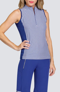 Elliot Top - Stripe Jacquard