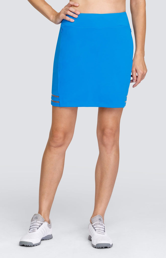 "Rosalie Skort - Grecian Blue - 18"" Outseam"