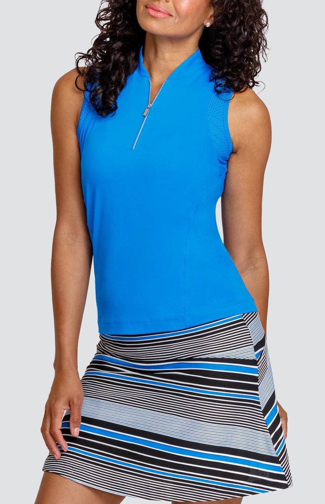 Cary Sleeveless Top - Pacific