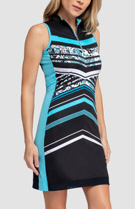 Alyssa Dress - Flutter Stripe