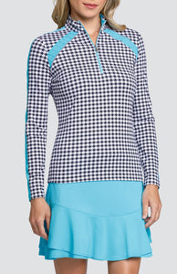 Angel Top - Houndstooth