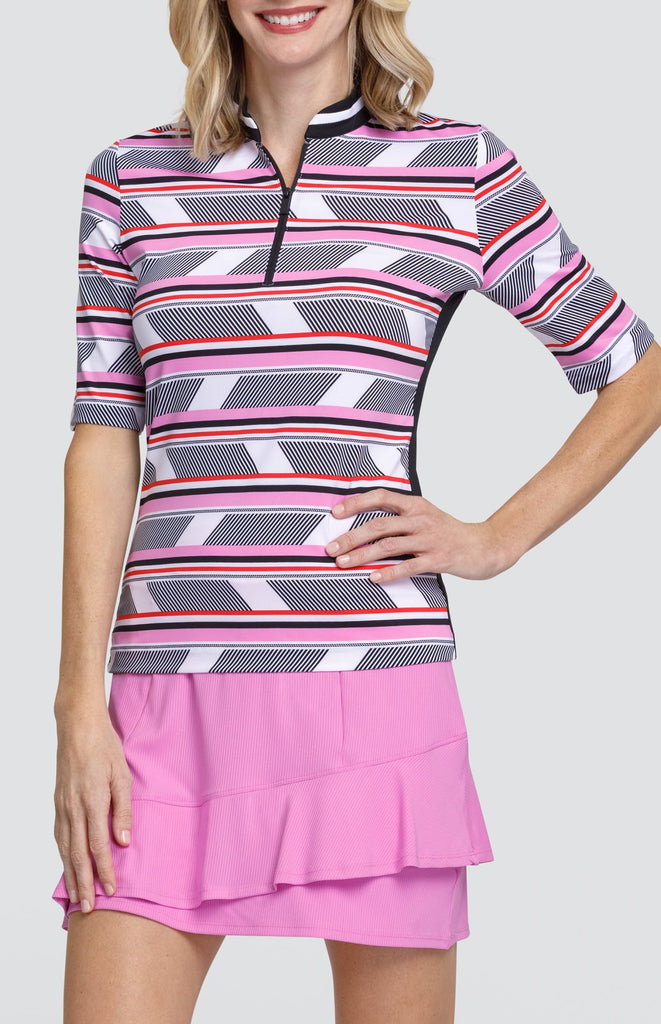 Mary Top - Fractured Stripe