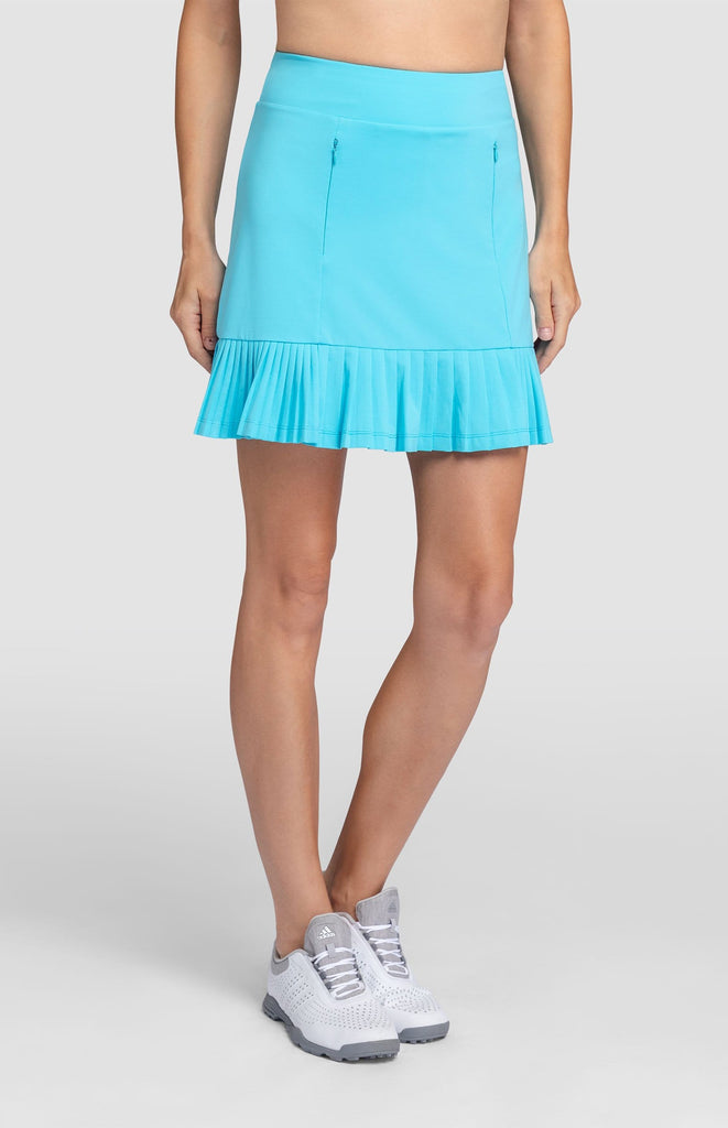 "Alejandra Skort - Blue Jay - 18"" Outseam"