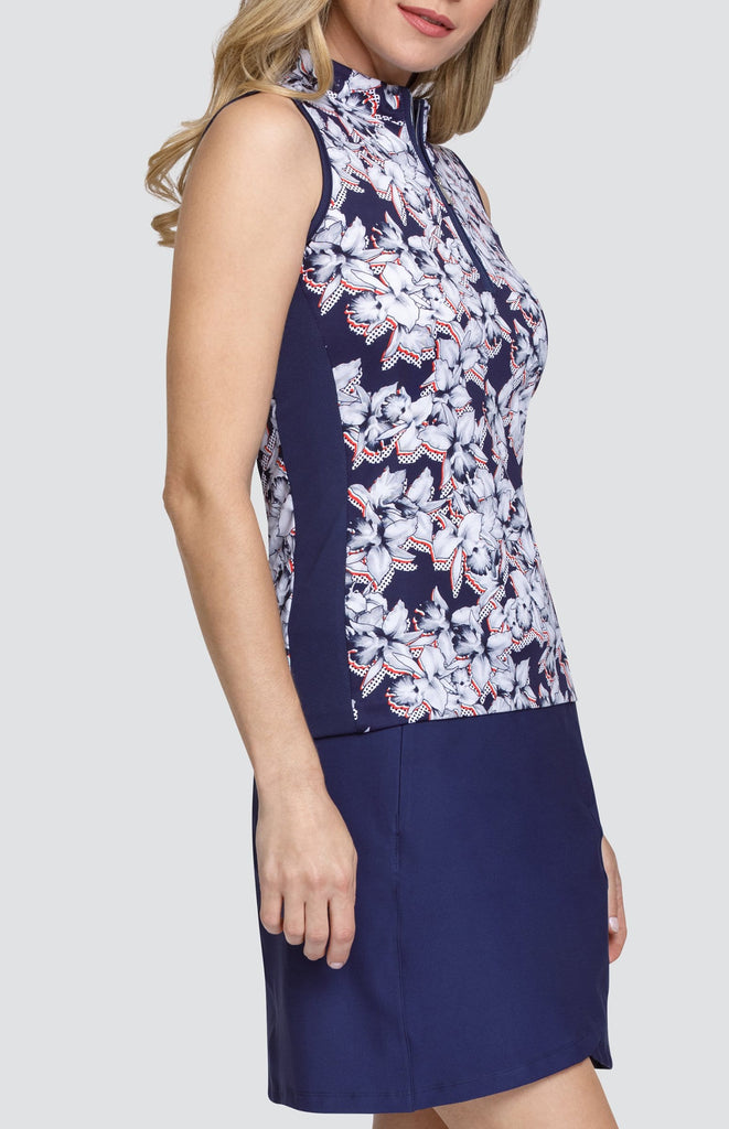 Sol Top - Dotted Floral