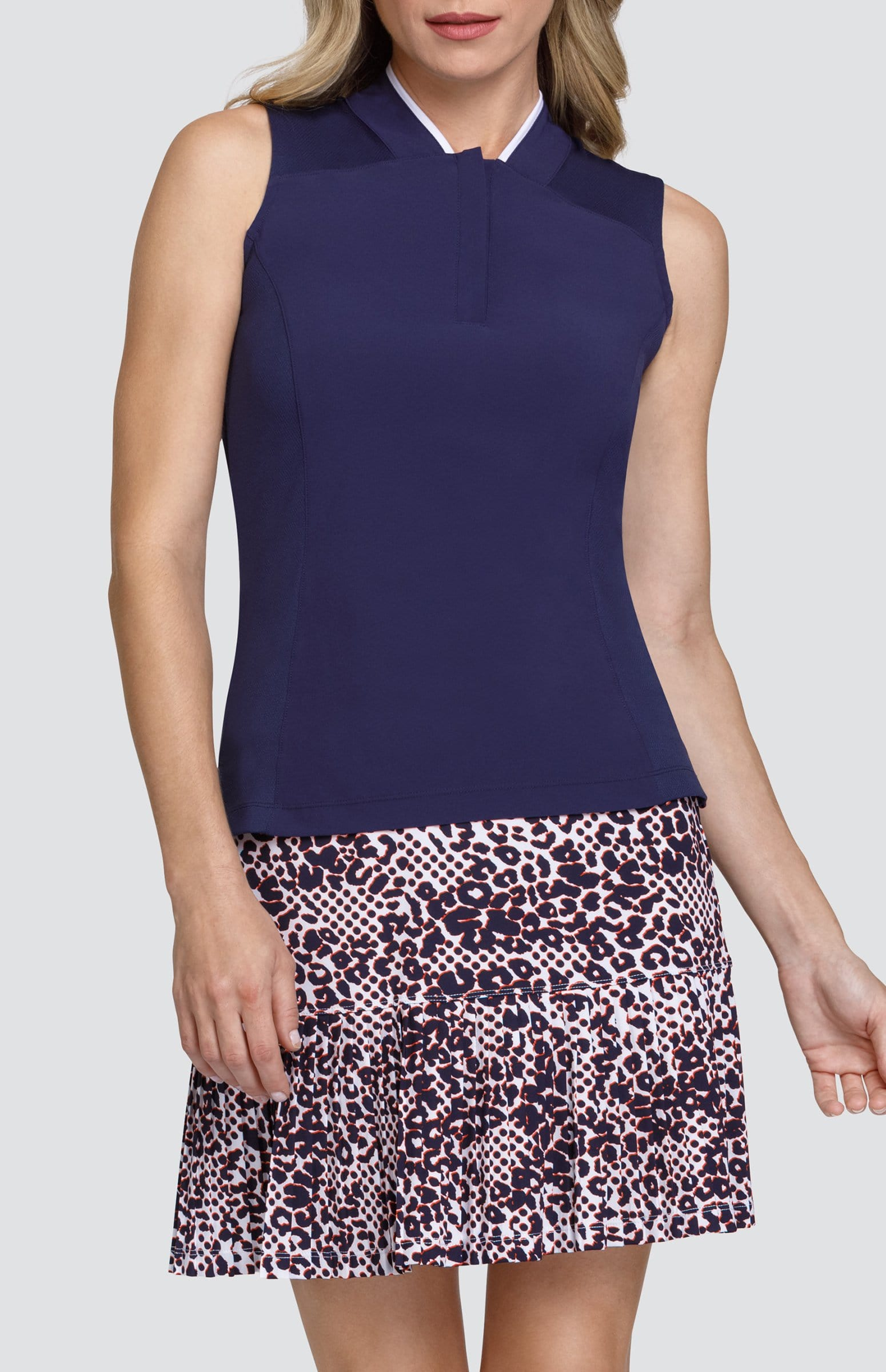 Ella Top - Navy Blue - FINAL SALE