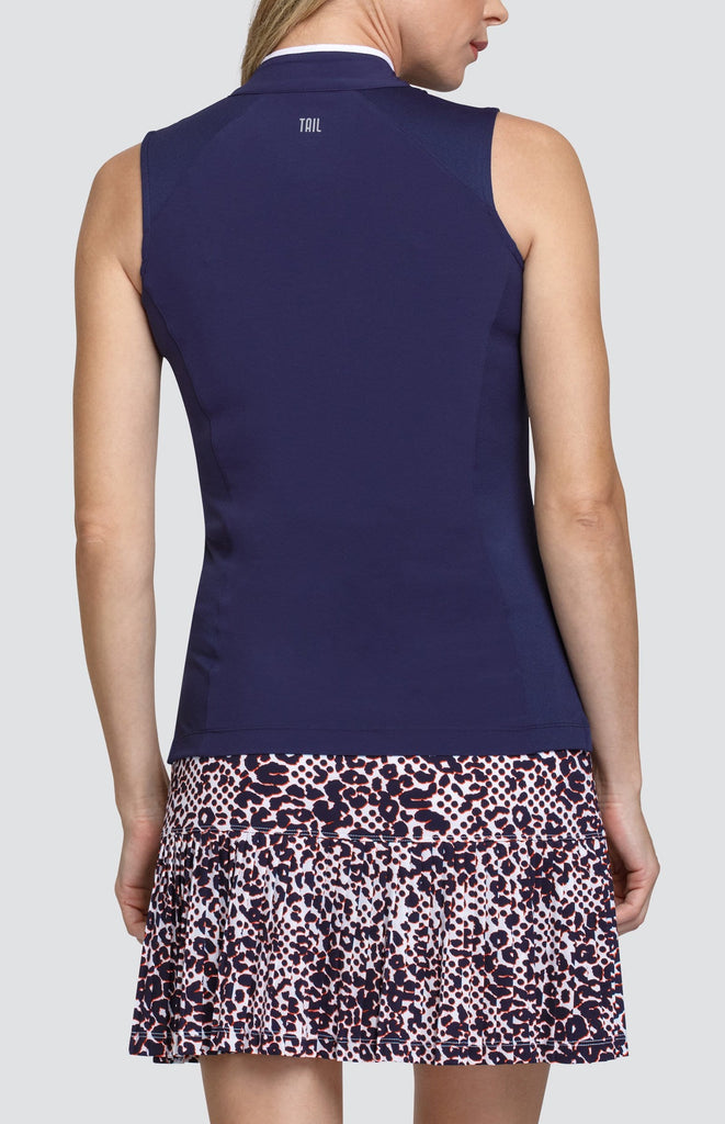Ella Top - Navy Blue