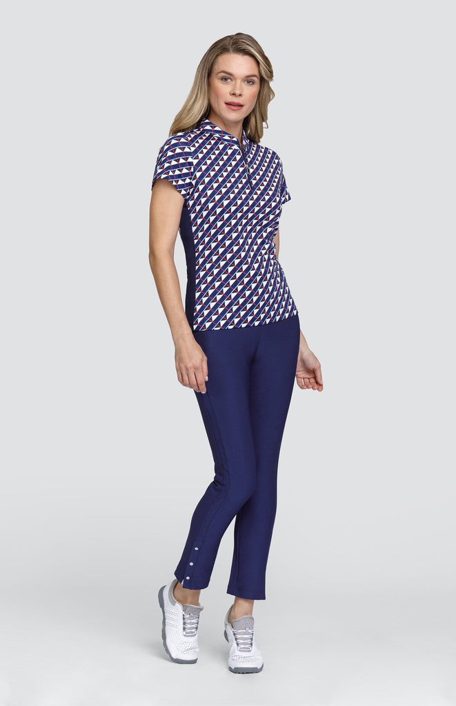Heather Top - Triangle Grid