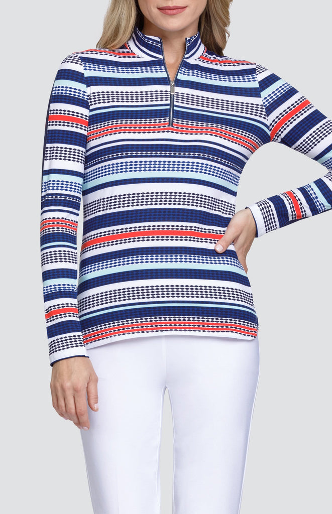 Brooke Top - Diamond Stripe
