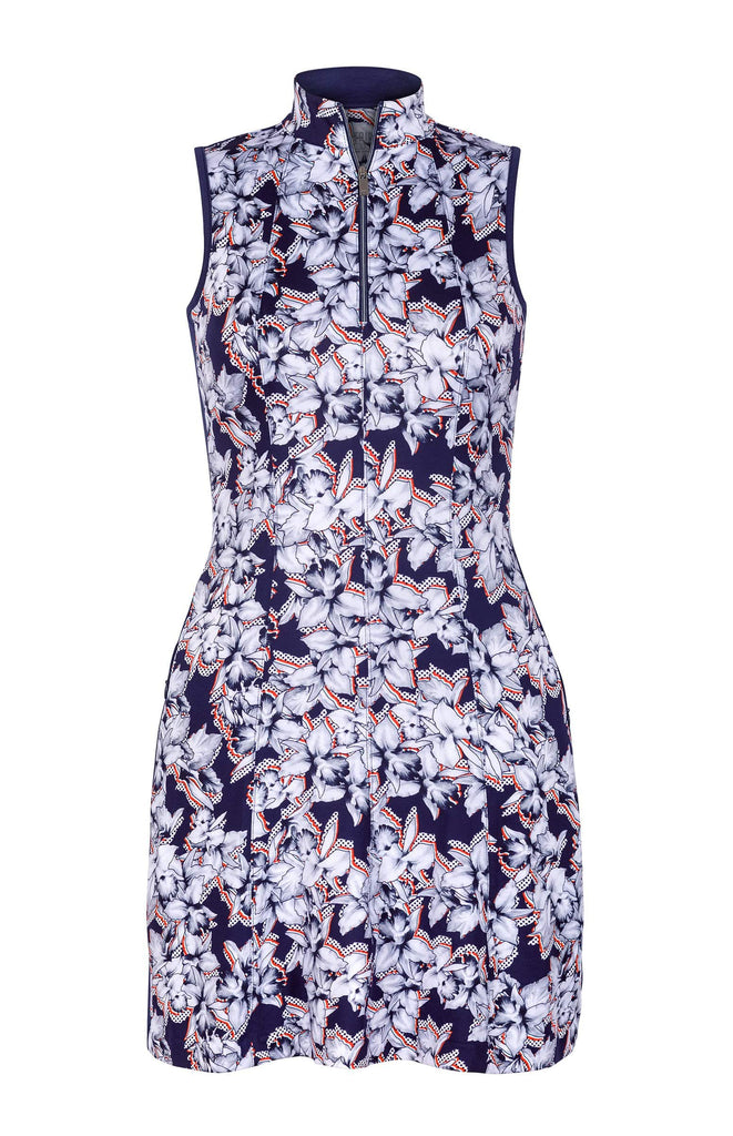 Sandra Dress - Dotted Floral