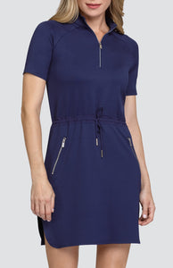 Tracy Dress - Navy Blue