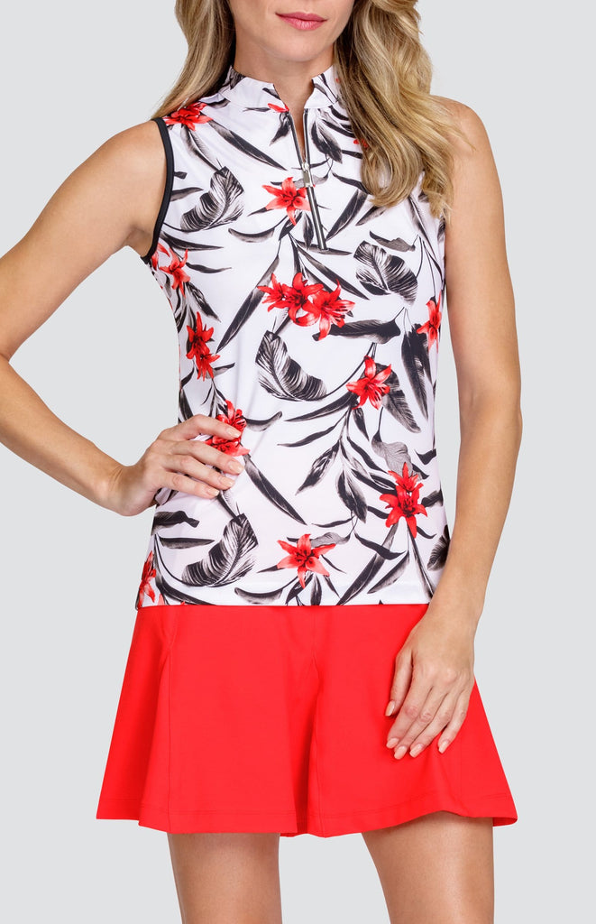 Tabitha Top - Inlet Floral