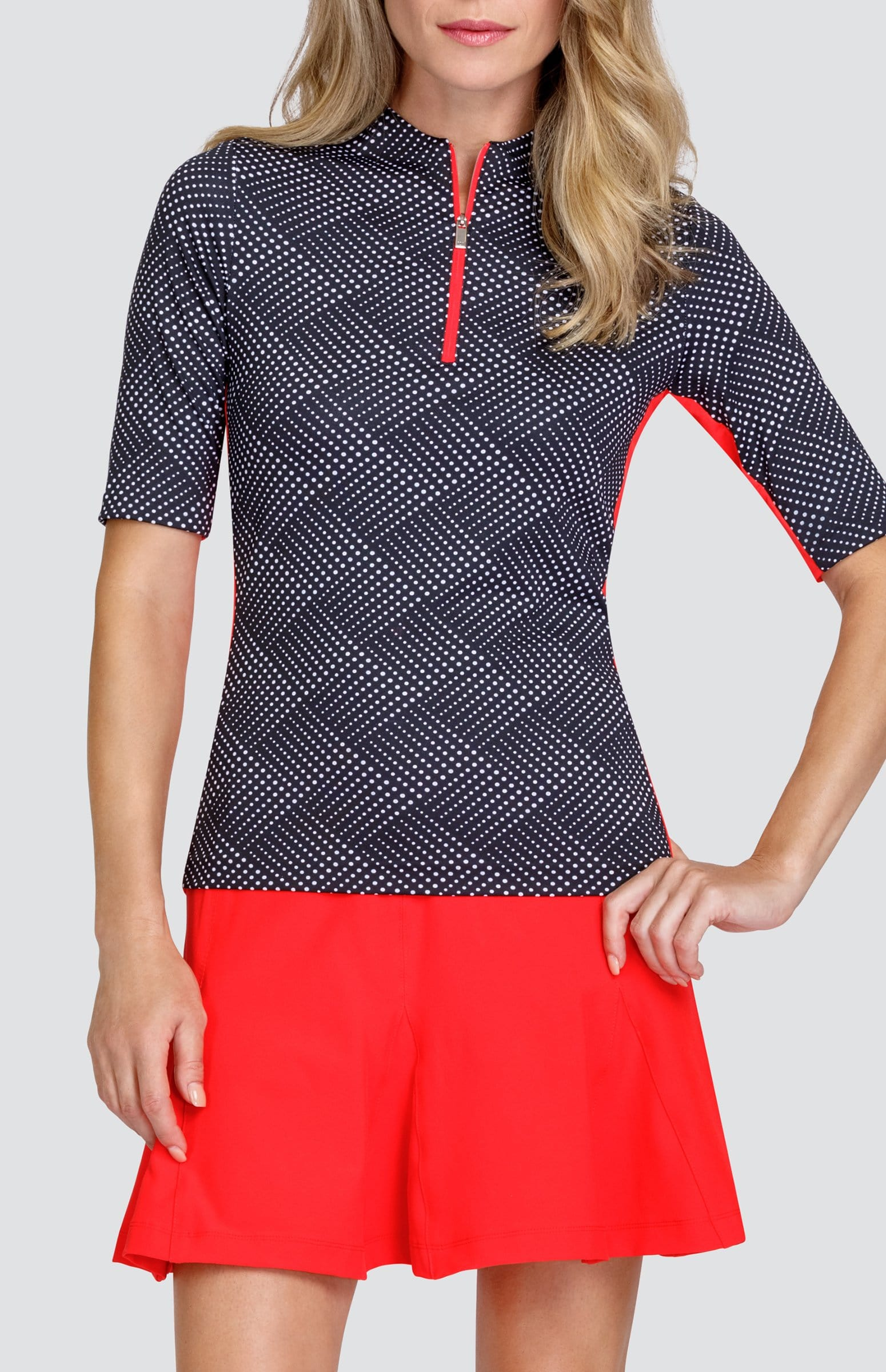 Callie Top - Wave Dot