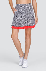 "Aubriella Skort - Palm Coast - 18"" Outseam"