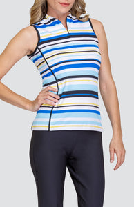 Christine Top - Varied Stripe