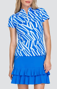 Joyce Top - Oscillating Stripes