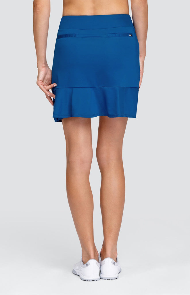 "Laurel Skort - Royal - 18"" Outseam"