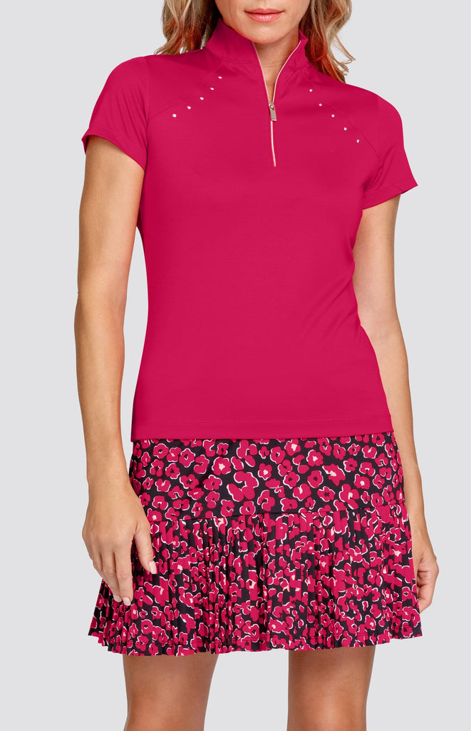 Jeanne Top - Dahlia Red