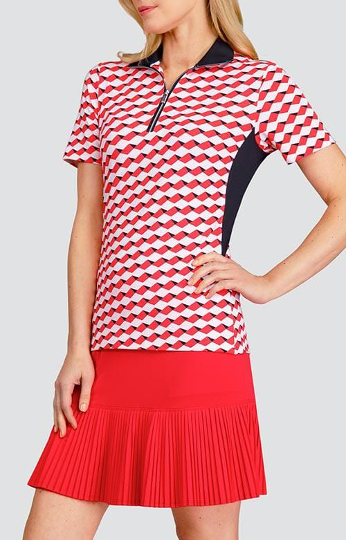 Julianna Top - Geo Stripe - 8.5in Sleeve