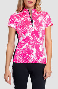 Rory Top - Tropical Print Light