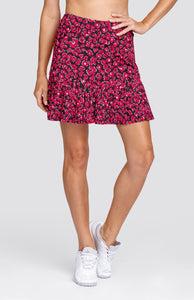 "Reagan Skort - Floranimal - 18"" Outseam"