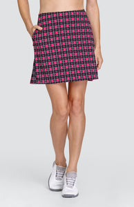 "Ana Skort - Gem Grid - 18"" Ousteam"