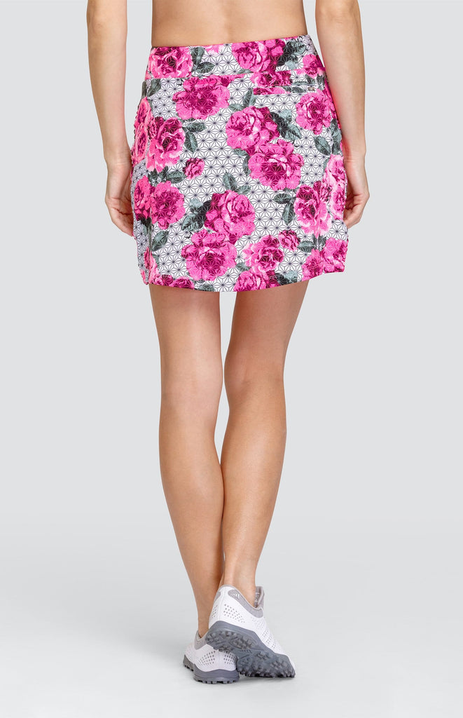 "Abby Skort - Garden Geo - 17"" Outseam"