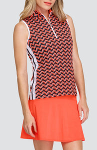 Charlette Top - Vista Chevron
