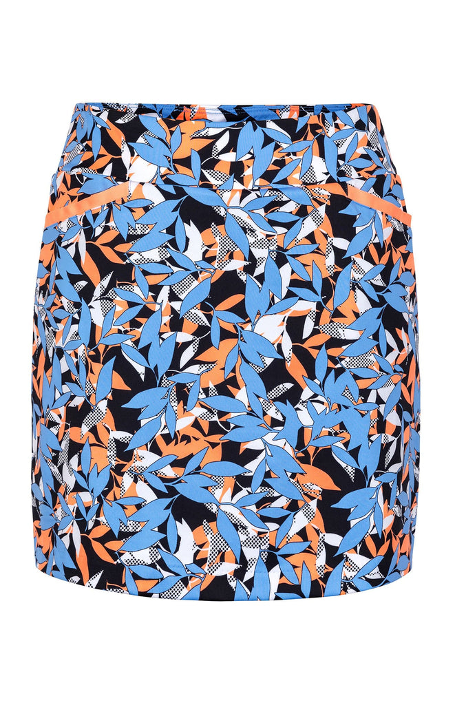 "Chloe Skort - Leaf - 18"" Outseam"