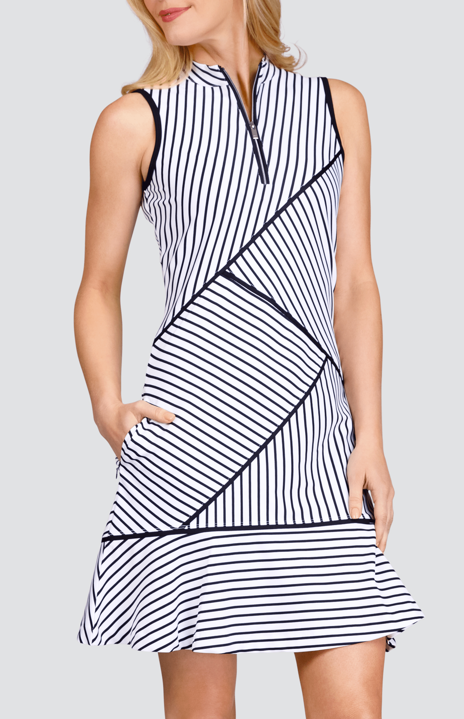 Iliana Dress - Stripe