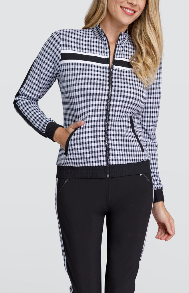Raegan Jacket - Gingham
