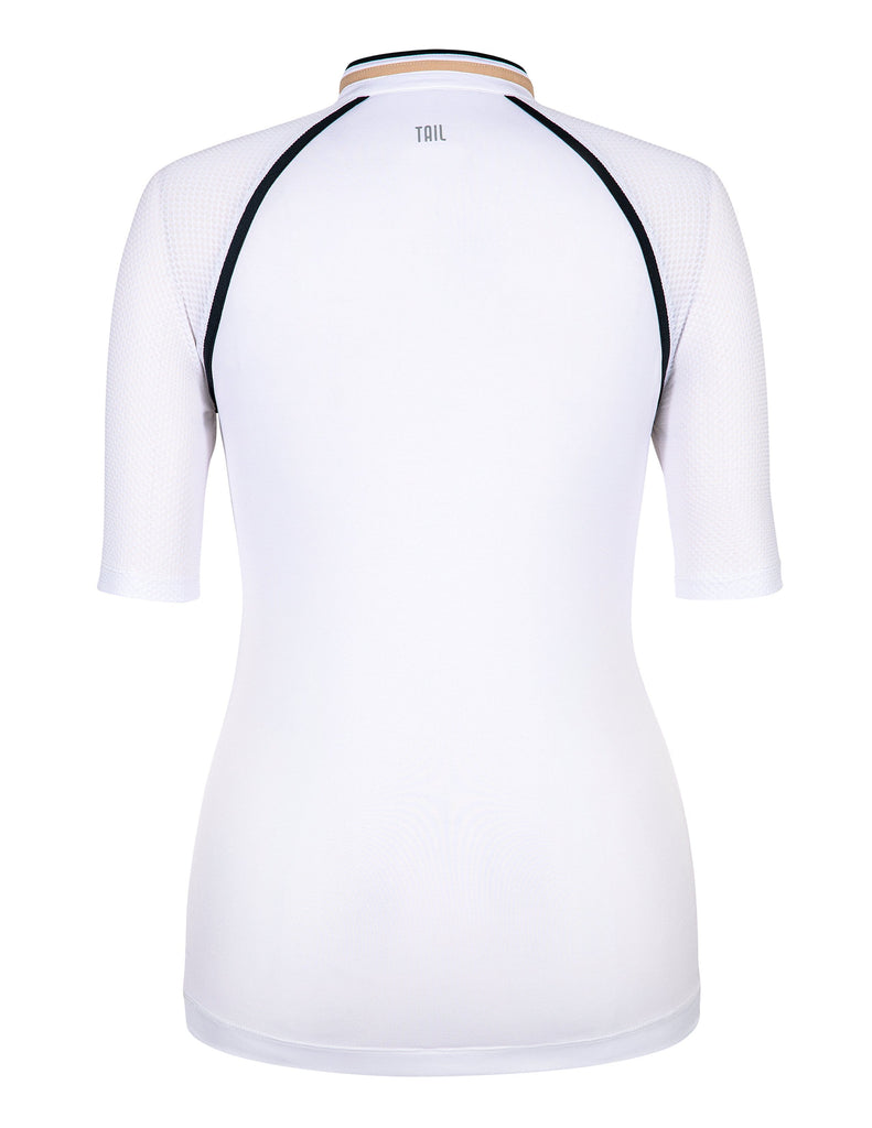 Sara Top - Chalk White