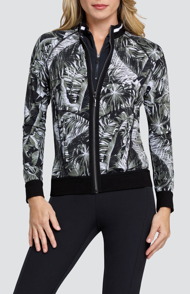 Jade Reversible Jacket - Tonal Tropical