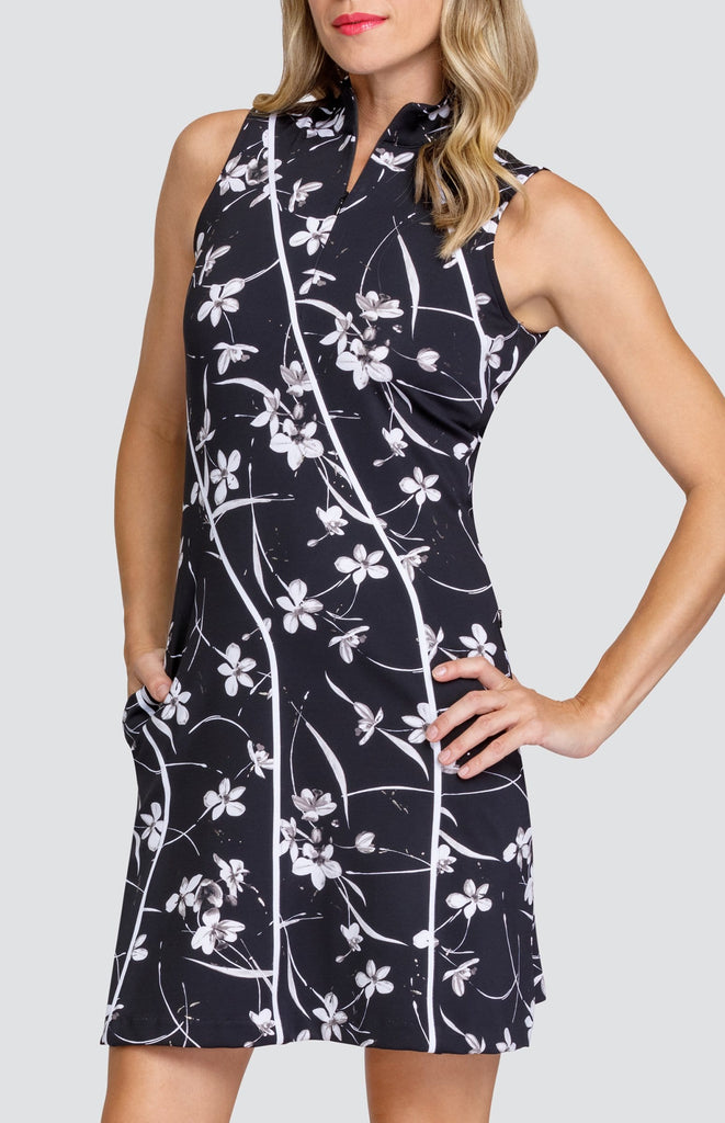 Jess Dress - Cascading Orchids