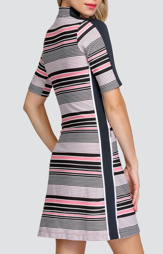 Kristen Dress - Ridged Jacquard