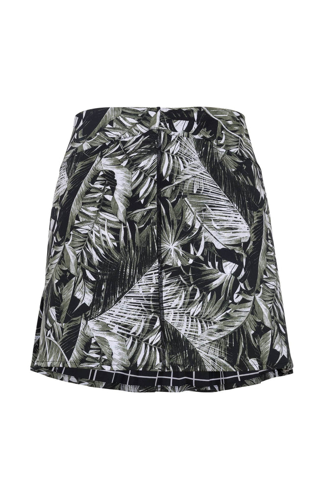 Delight Reversible Skirt - Tonal Tropical