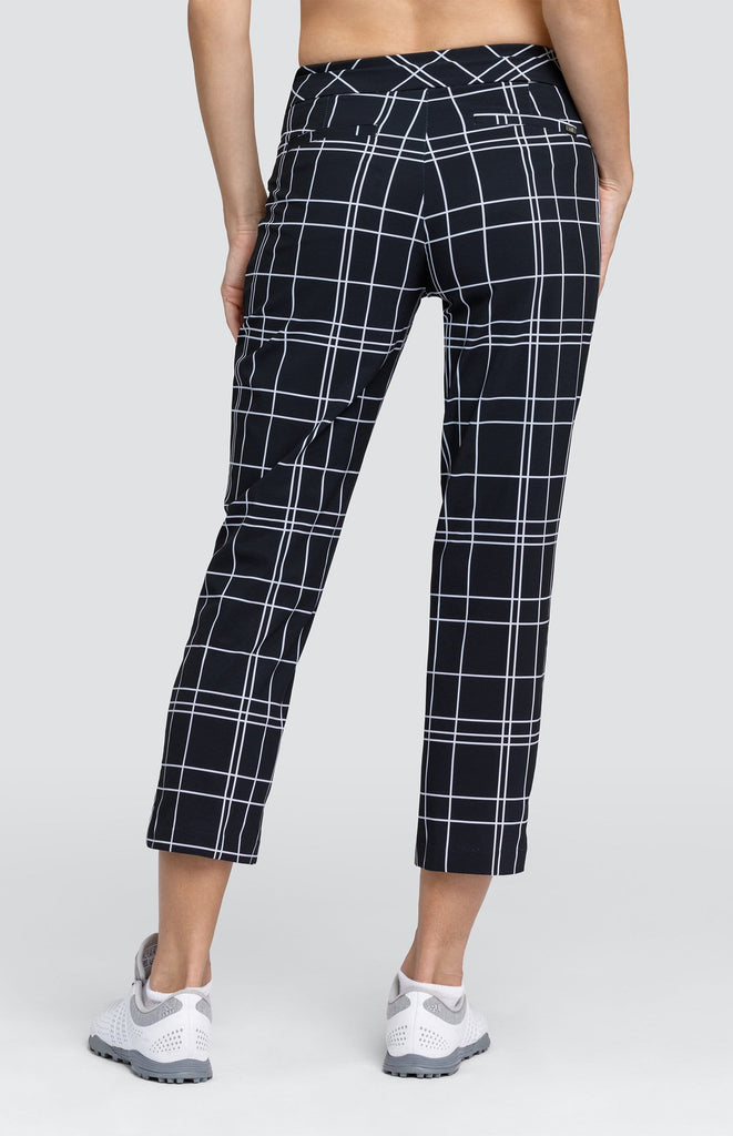 Claudia Pant - Windowpane Plaid