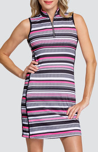 Danville Dress - Diamond Stripe