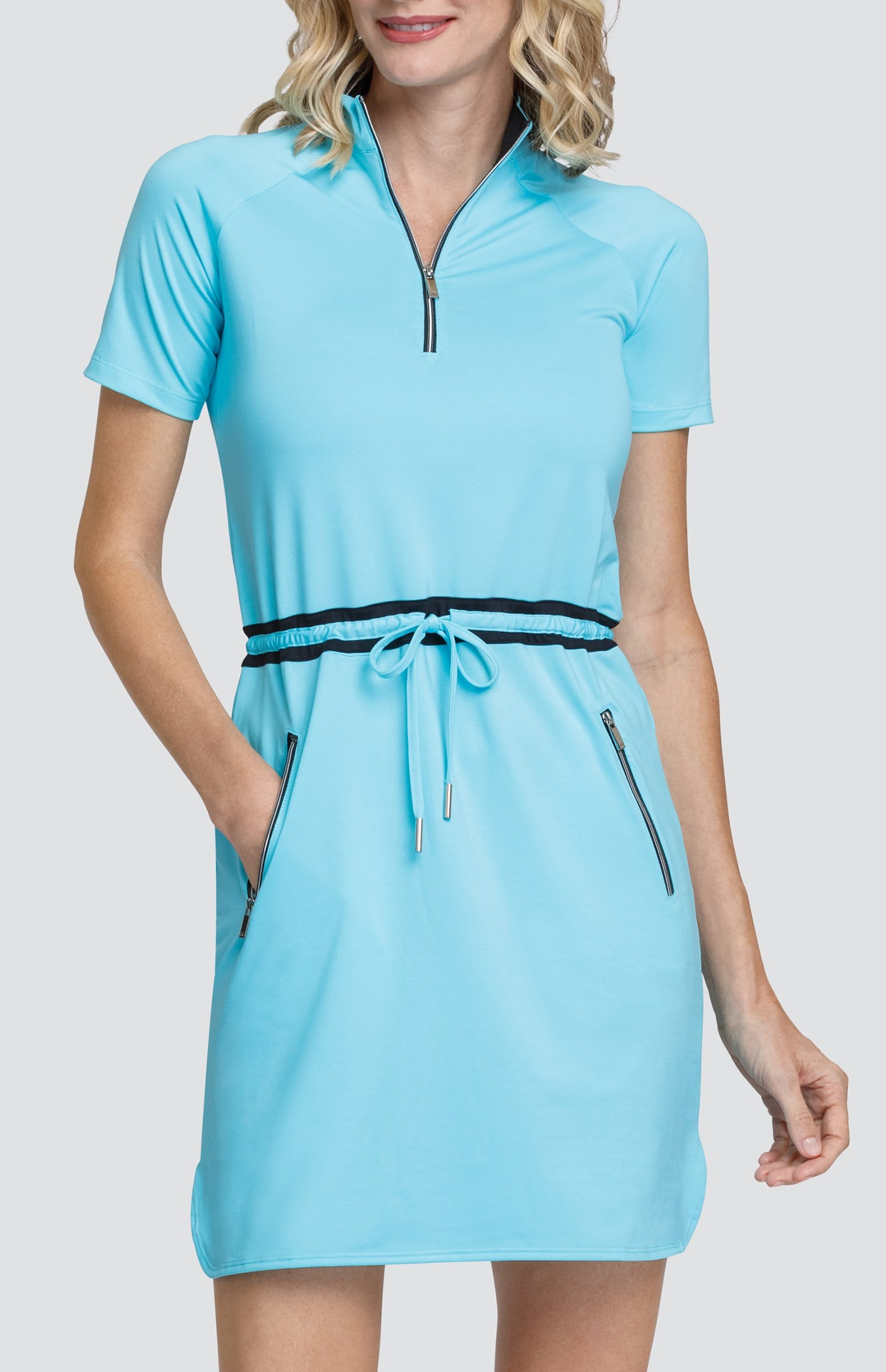 Tracy Dress - Bluefish