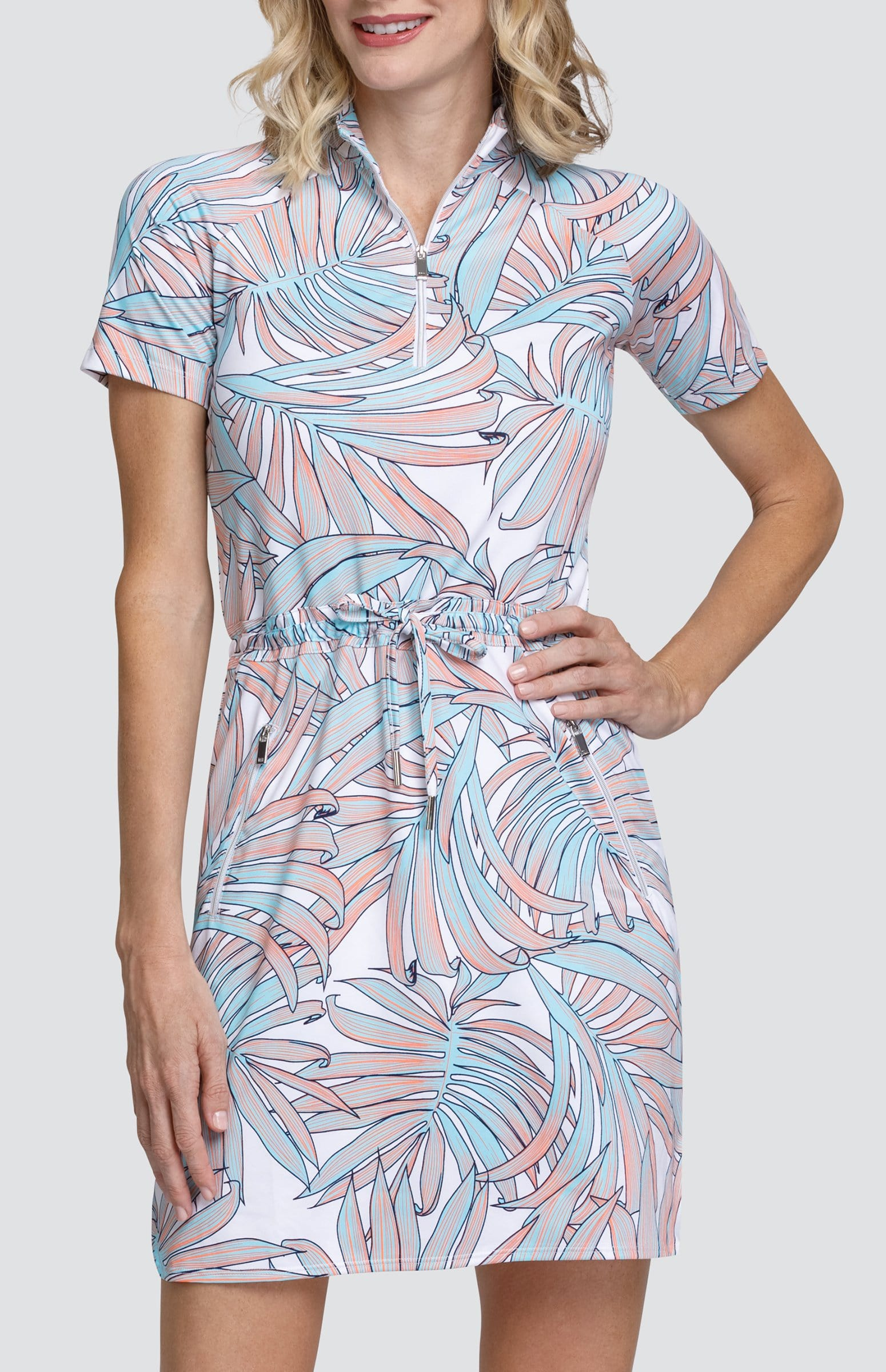 Tracy Dress - Palm